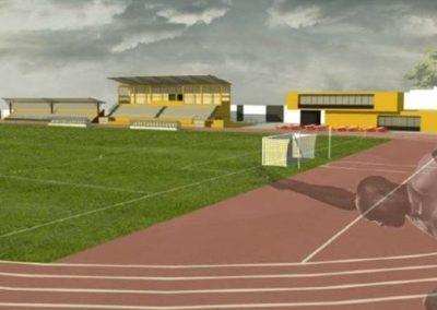 Estádio 1º Maio – Malange – Angola
